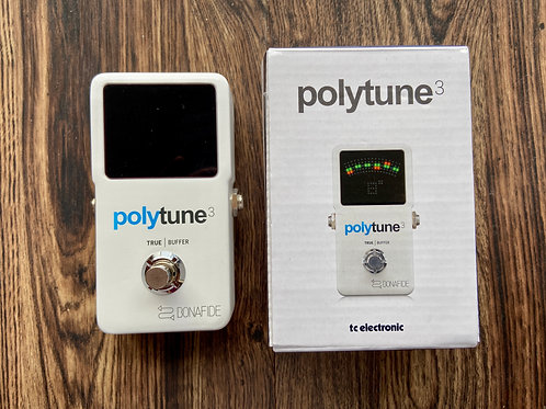 TC Electronic Polytune 3 Polyphonic Tuner Pedal with Buffer (M) - SOLD