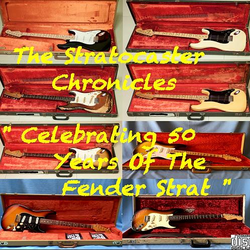 Stratocaster Chronicles-Fender Strat 오디오 CD의 50 주년 기념