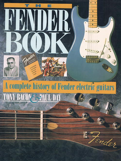 The Fender Book by Tony Bacon & Paul Day