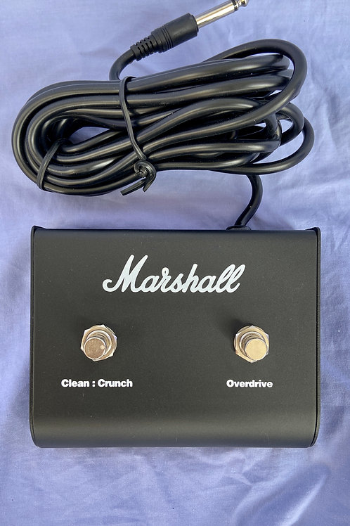 Marshall Dual Footswitch Pedal (PEDL-90010) For MG50FX Amplifiers (M)