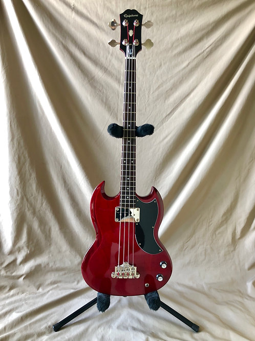 Epiphone EB-0 Electric Bass Cherry Red SG (G) - SOLD