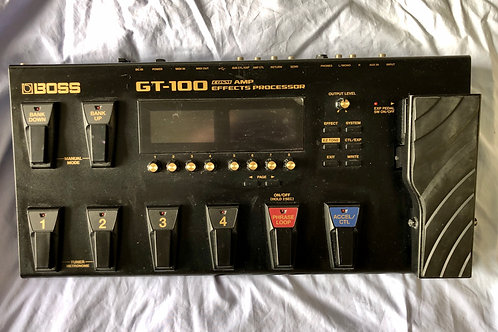Boss GT-100 COSM Amp Effects Processor MIT (G) - SOLD