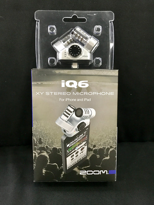 Zoom IQ6 XY Stereo Microphone For iPhone and iPad iOS (New) - SOLD