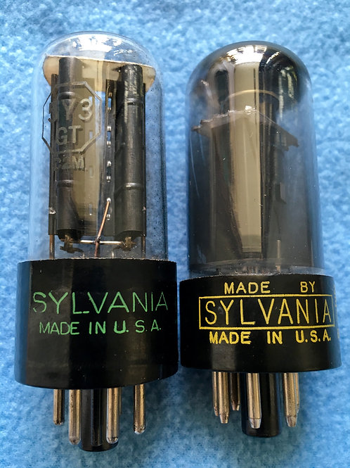 Early 1960s Sylvania Vacuum Tubes Vintage USA - SOLD