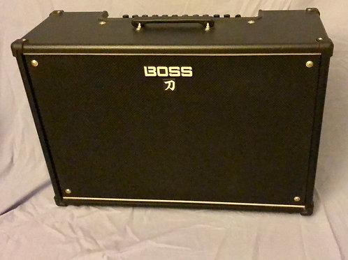 """Boss KTN-100/212 Katana 100w 2x12"""" Guitar Combo Amp (EXC) - SOLD"""