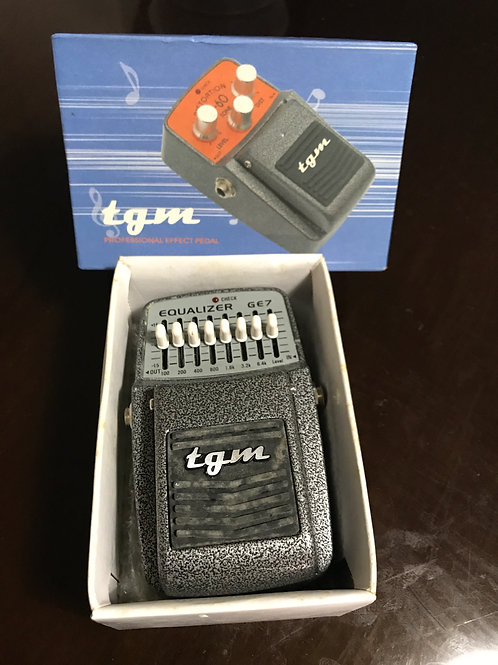 TGM GE7 Graphic Equalizer Pedal (EXC) - SOLD
