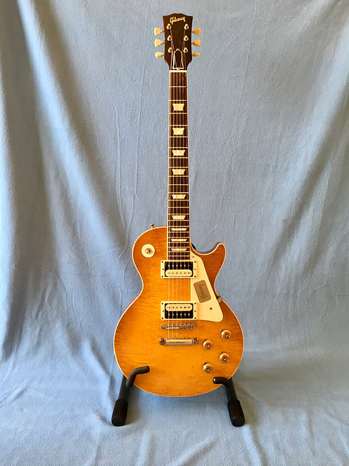 "2012 Gibson Collector's Choice™ #4 1959 Les Paul ""Sandy"" USA (VG) - SOLD"