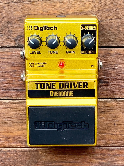DigiTech Tone Driver Overdrive Pedal c/w original box, etc. (New)