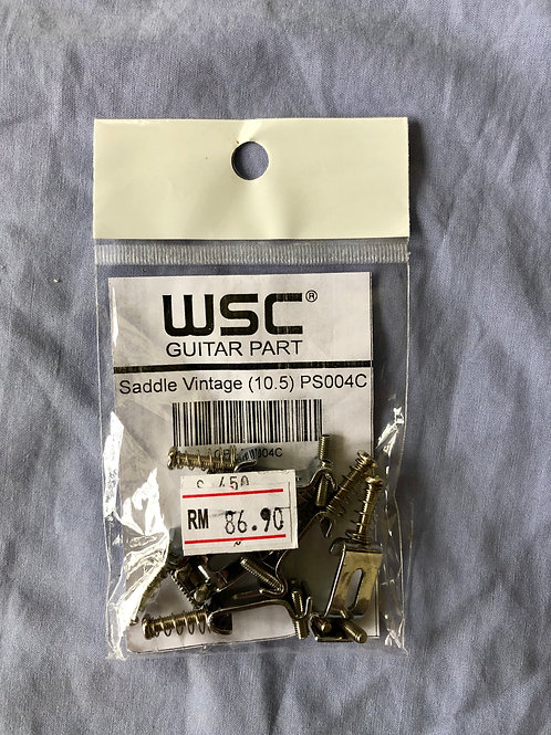 WSC Guitar Part - Saddle Vintage (10.5) PS004C For Vintage FStrats - SOLD