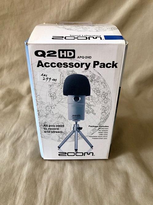 Zoom Q2 HD Accessory Pack ( APQ - 2HD ) (New) - SOLD