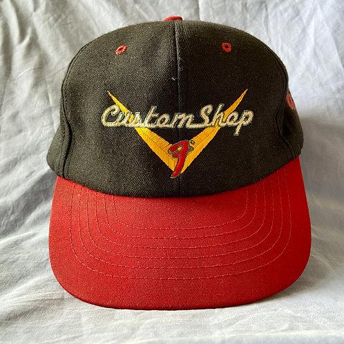 Classic 'Fender Custom Shop' Logo Baseball Cap USA (EXC)