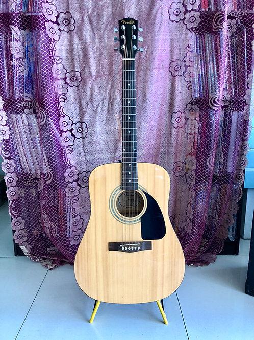 Fender FA-100 Dreadnought Acoustic Guitar Natural (VG) - SOLD