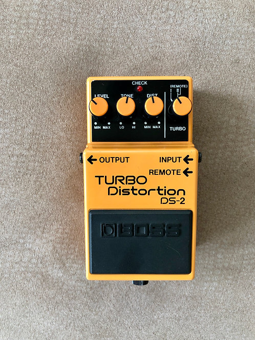 Boss DS-2 Turbo Distortion MIT (VG) - SOLD