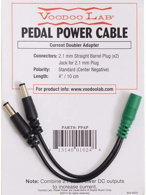 Voodoo Lab Current Doubler Adapter (PPAP) (New)