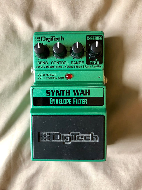 Digitech Synth Wah Envelope Filter Pedal (EXC) - SOLD