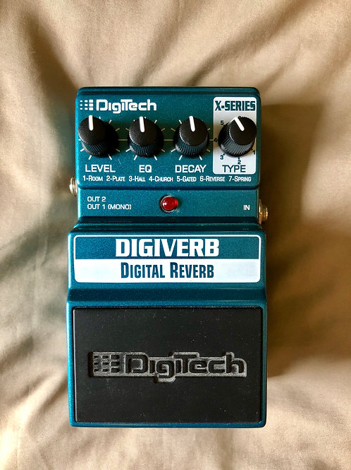 Digitech Digiverb Pedal (EXC) - SOLD