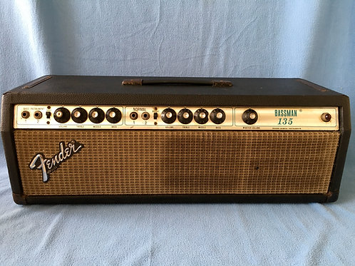 1979 Fender Bassman 135 Head USA (VG) - SOLD