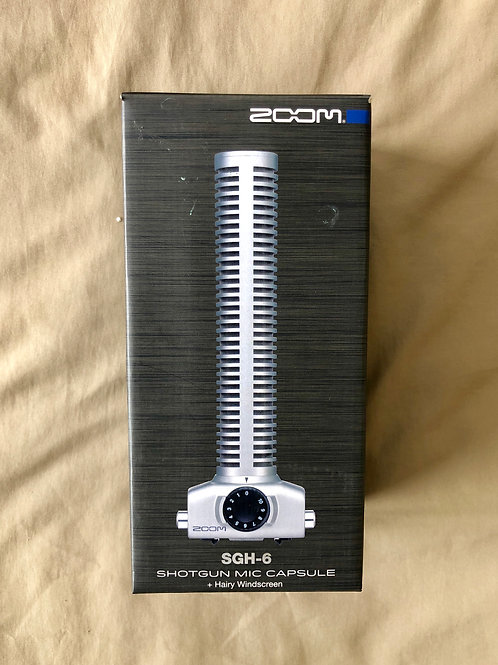 Zoom SGH-6 Shotgun Mic Capsule (New) - SOLD