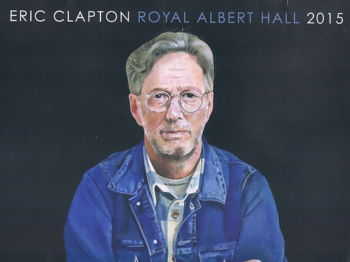 Eric Clapton Royal Albert Hall 2015 Tour Program