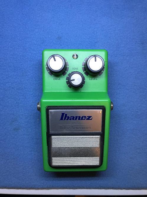 Ibanez TS-9 Tube Screamer Reissue Japan (EXC) - SOLD