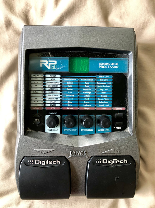 DigiTech RP150 Modelling Guitar Processor (G) - SOLD