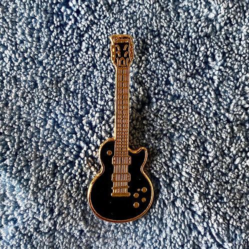 Vintage Gibson Les Paul Custom Miniature Lapel Pin Art (E) - SOLD