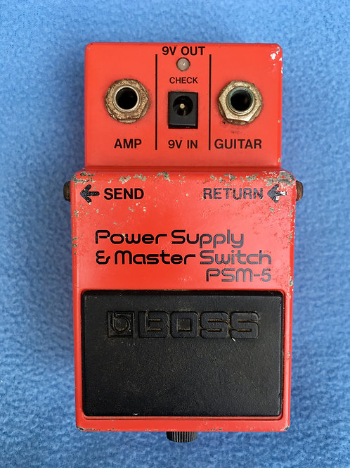 BOSS Power Supply & Master Switch PSM-5 (MIJ) Jun 1984 (G) - SOLD