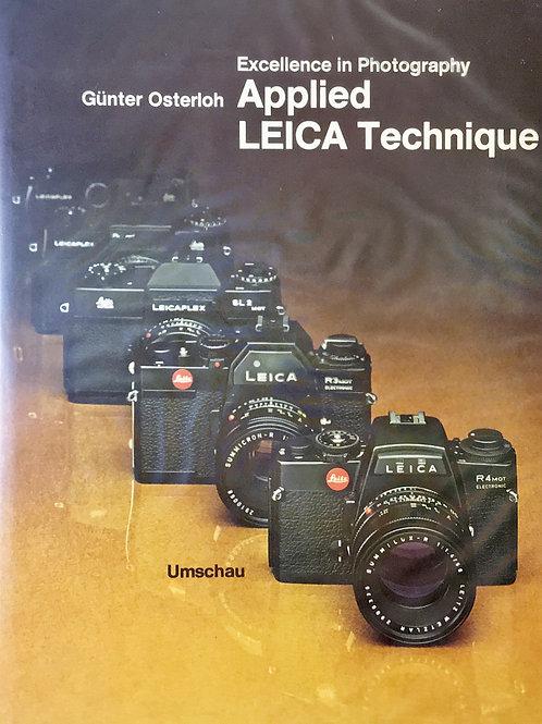 Applied Leica Technique Book By Gunter Osterloh