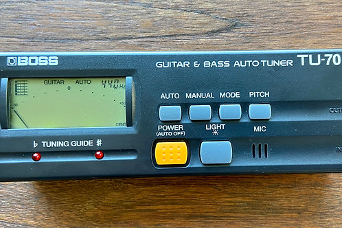BOSS TU-70 Guitar & Bass Auto Tuner (M) - SOLD
