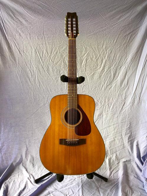 1970s Yamaha FG 260 12 Strings Acoustic Guitar Natural (G) - SOLD