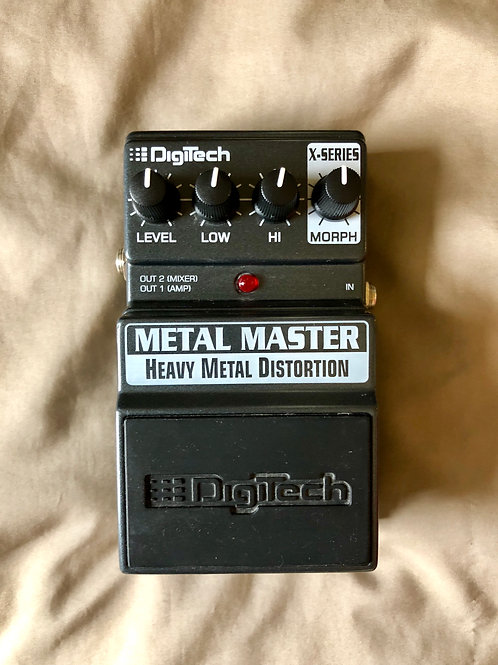 Digitech Metal Master Pedal (EXC) - SOLD