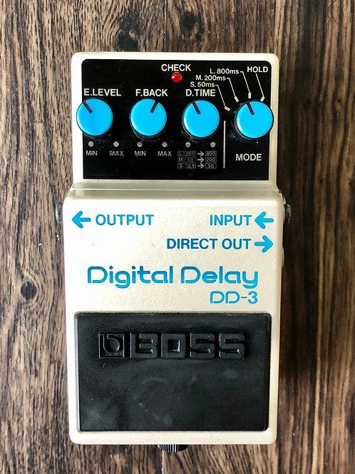 Boss DD-3 Digital Delay MIT (VG) - SOLD