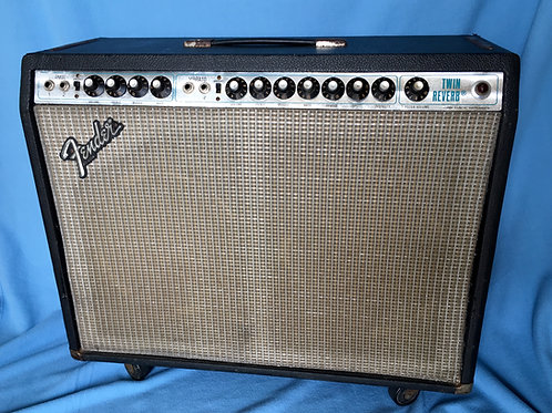 1978 Fender Twin Reverb Amplifier USA - SOLD