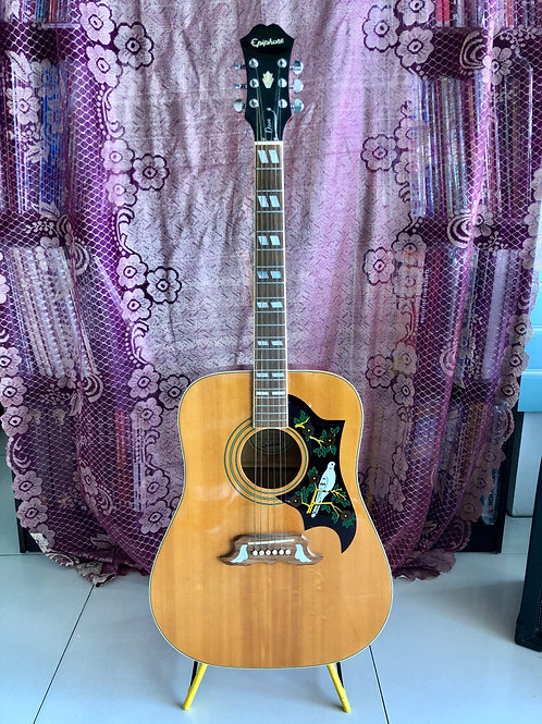 Epiphone Dove Acoustic Guitar Natural (EXC) - SOLD