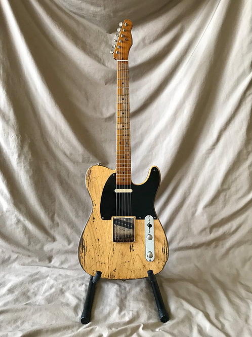 MJT Telecaster Natural Relic USA (M) - SOLD