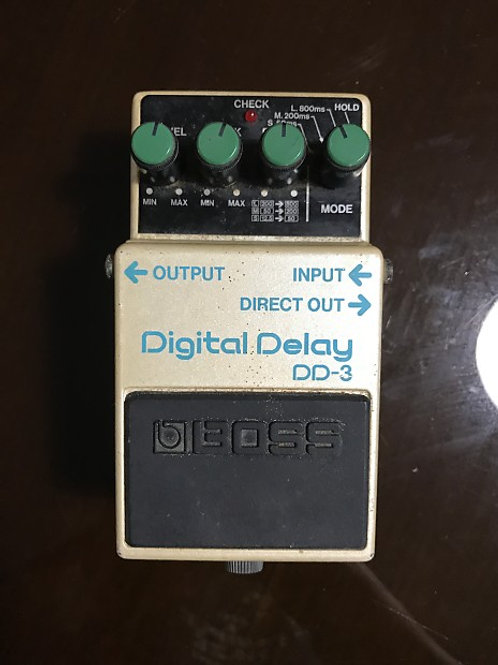 BOSS DD-3 Digital Delay MIJ (EXC) - SOLD