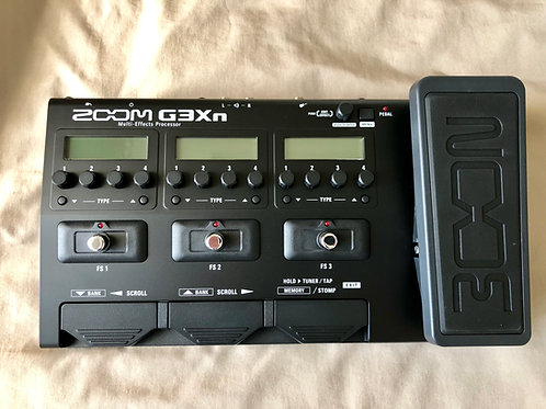Zoom G3Xn Multi-Effects Processor (M) - SOLD