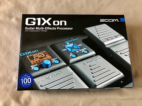 Zoom G1XoN Guitar Multi-Effects Processor with Expression Pedal (M) - SOLD