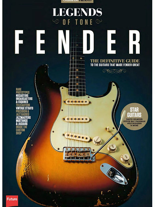 Legends Of Tone: Fender - The Definitive Guide - SOLD