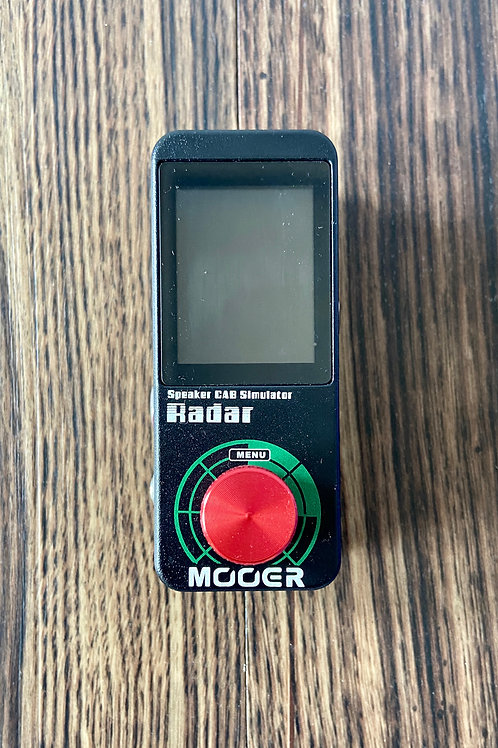 Mooer Radar Speaker Cab Simulator Pedal (M) - SOLD