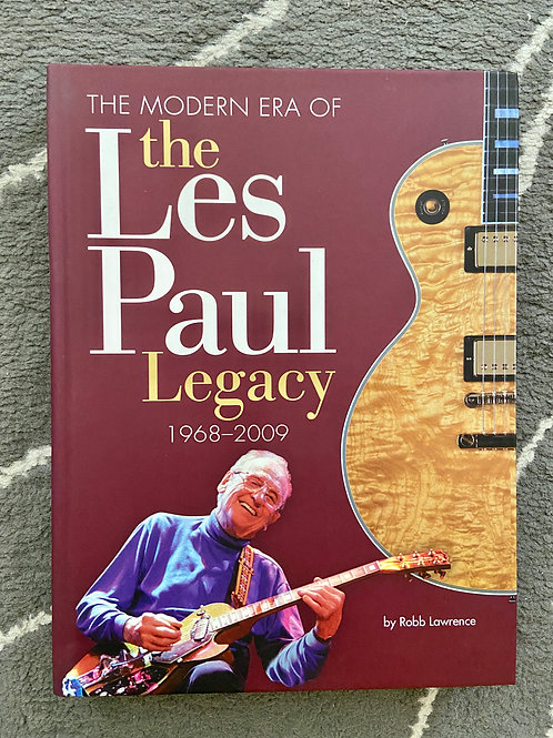 The Modern Era Of The Les Paul Legacy 1968 - 2009 Book By Robb Lawrence (M)