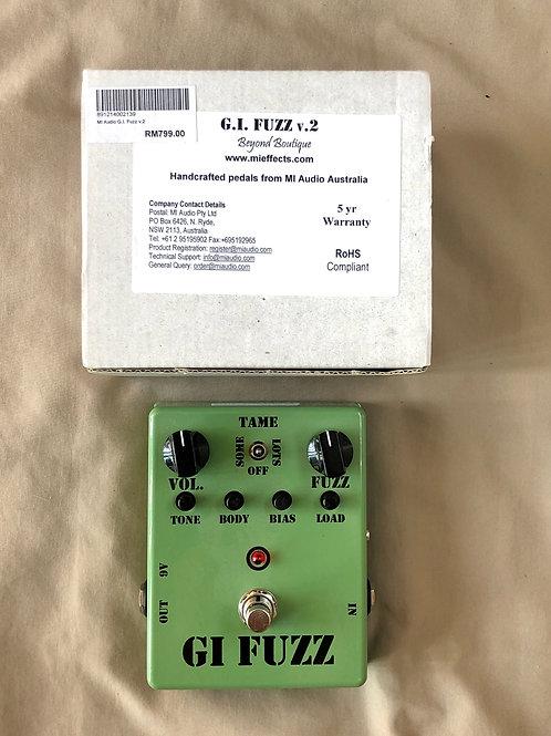MI Audio GI Fuzz V.2 Green Australia (M) - SOLD