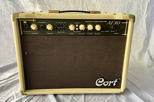 Cort AF30 Acoustic Guitar Combo Amplifier (30W) (G)