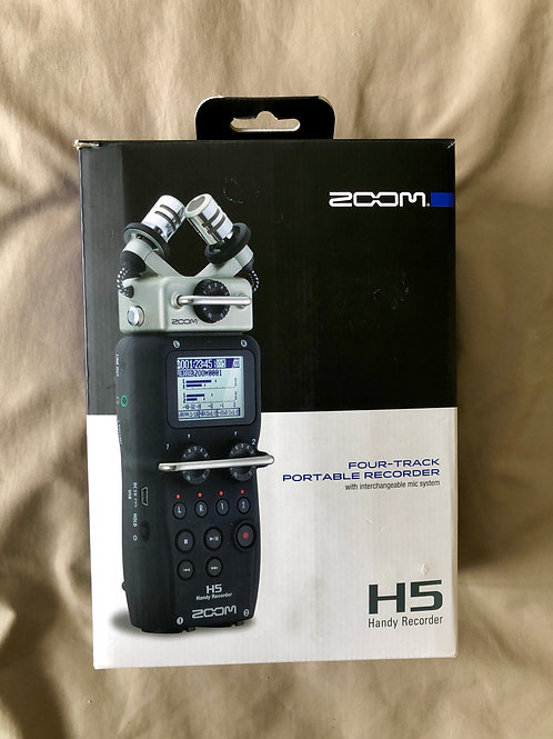 Zoom H5 Handy Recorder (New) - SOLD