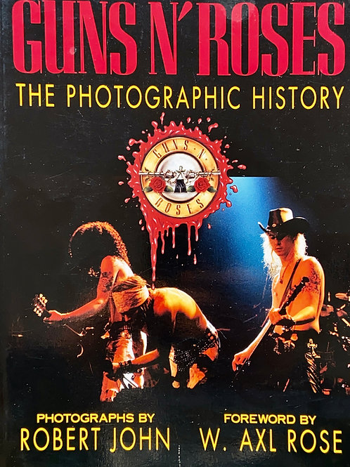 Guns N' Roses: The Photographic History Paperback Book, 1993 (G) - SOLD