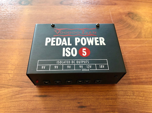 Voodoo Lab Pedal Power ISO 5 Power Supply Unit USA (M) - SOLD