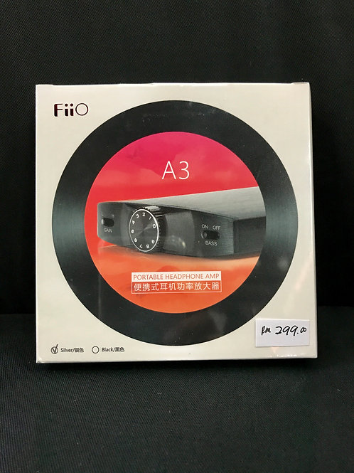 FiiO A3 Portable Headphone Amp (New) - SOLD