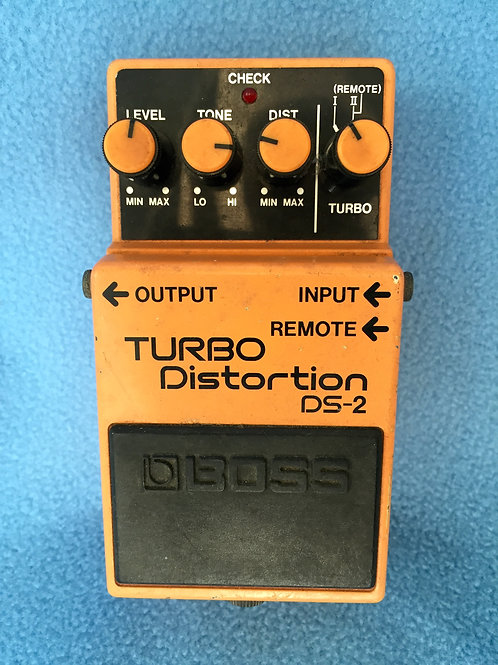 BOSS Turbo Distortion DS-2 (MIJ) Jan 1988 - SOLD