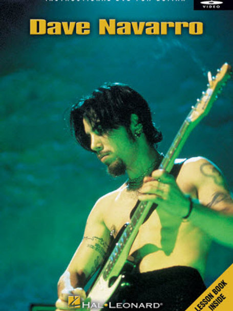 Dave Navarro Guitar Instructional DVD