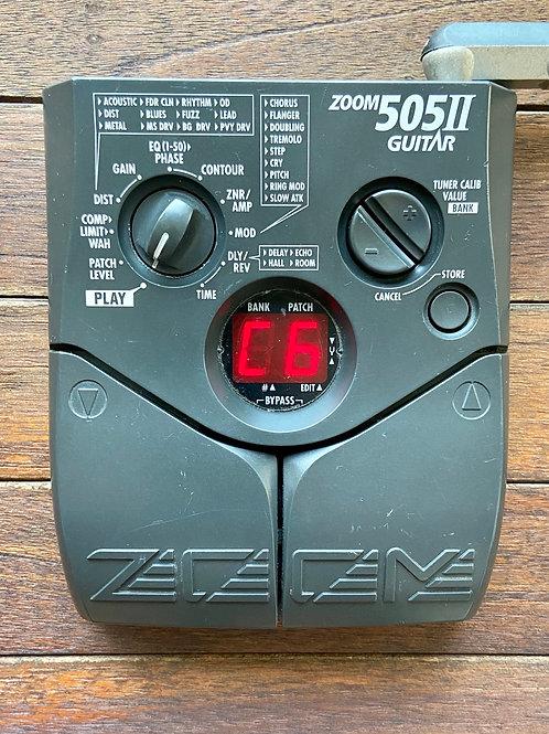 Zoom 505 II Guitar Multi-Effect Japan (VG)-판매